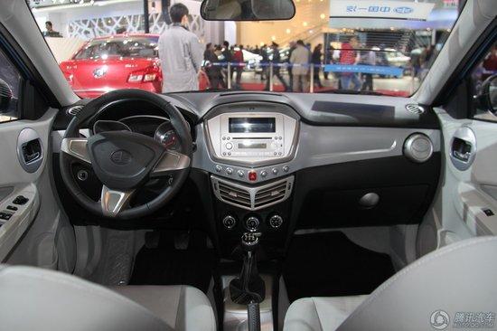 森雅S80都市时尚版车展发布 预计售价5-8万