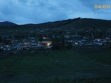 新疆白哈巴村的清晨