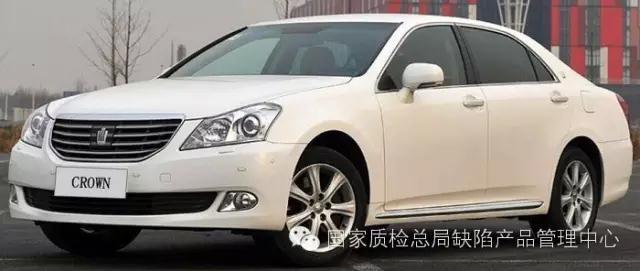 天津一汽丰田汽车有限公司召回部分皇冠汽车