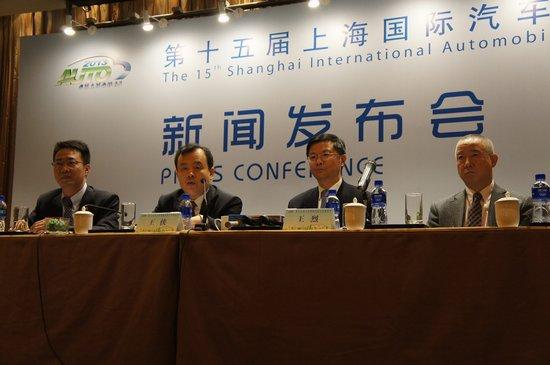 上海车展4月21日盛装启幕 wbr 观众人数将达80万高清图片