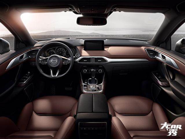 马自达全新CX-9内饰-大CAR秀 马自达全新CX 9解读 剑指汉兰达图片
