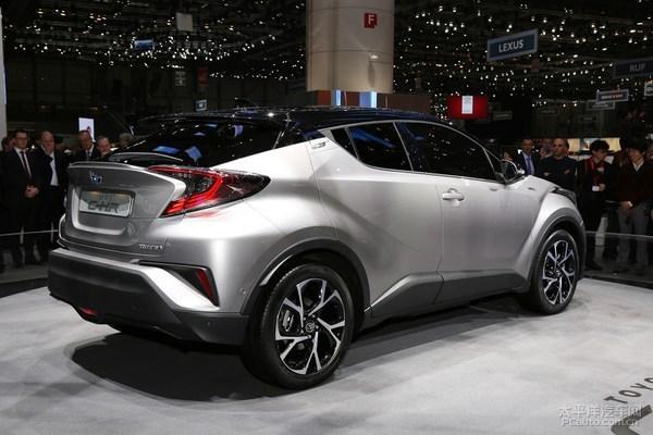 丰田C-HR将推高性能版 竞争JUKE Nismo
