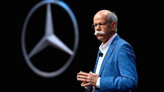 戴姆勒:电动车最初利润率将仅为燃油车一半