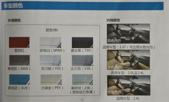 北京现代索纳塔九配置曝光 动力选择真多