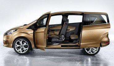 福特B-MAX量产版官图发布 日内瓦车展首发