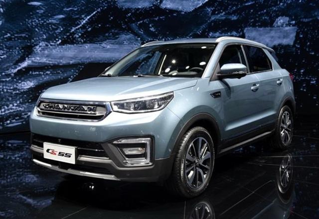 长安紧凑型SUV—CS55 或将今年四季度正式上市