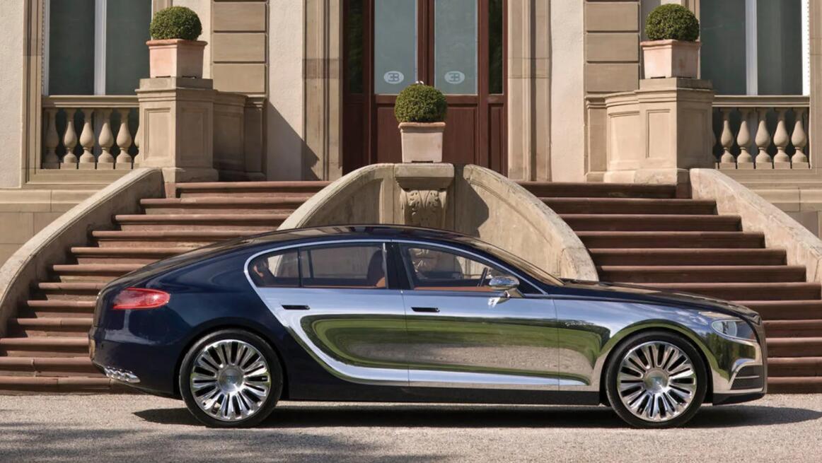 布加迪拟推出电动豪华轿车 或采用保时捷Taycan平台生产