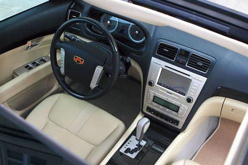 试驾帝豪EC8 体验自主品牌带来的驾车感受