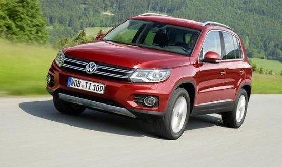 大众紧凑型SUV车型Tiguan-大众计划推出全新中型SUV车型高清图片