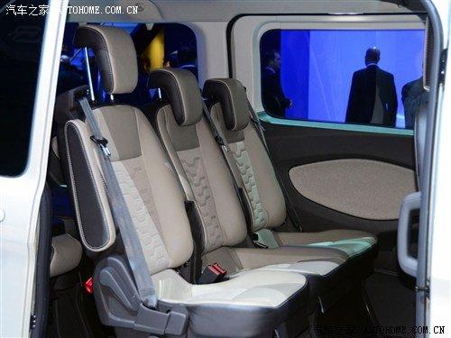 福特Tourneo Custom概念车日内瓦车展亮相