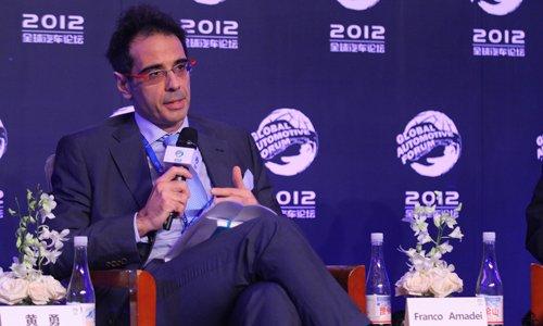 Franco:中国新能源领先 内燃机需更绿化
