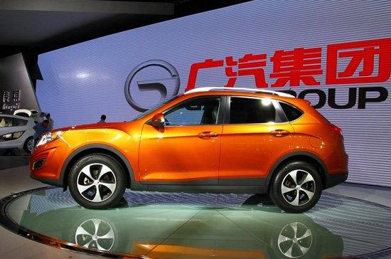 广汽传祺GS5三月下线 有望4月正式上市