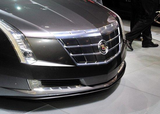凯迪拉克ELR电动轿跑概念车亮相北京车展