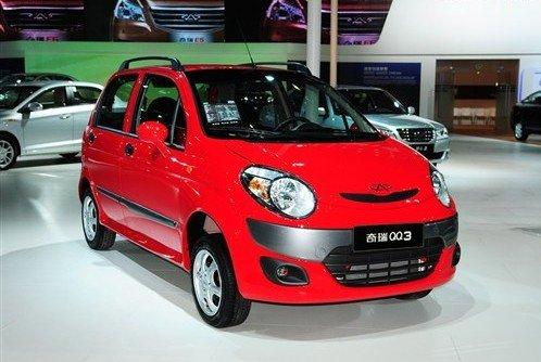 奇瑞新款QQ3价格配置曝光 新增运动版车型