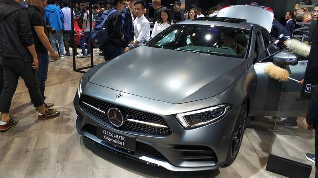 奔驰全新CLS四门轿跑车将于6月1日上市 配3.0T动力