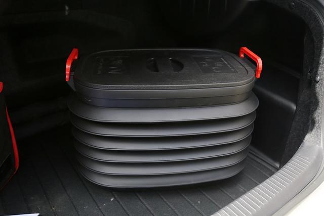体验TRD同瑞德车载折叠置物箱 收纳好帮手
