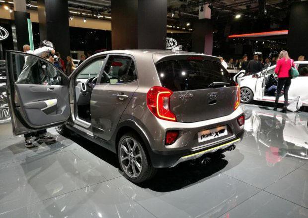 SUV化的升级 起亚Picanto X-Line首发
