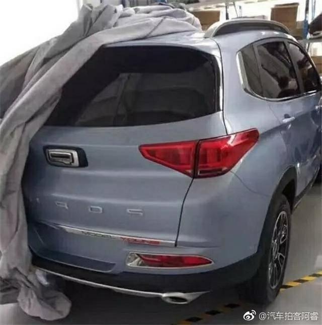 观致全新小型SUV谍照曝光 或8月25日发布