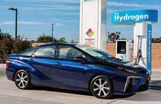 丰田Mirai氢燃料电池车