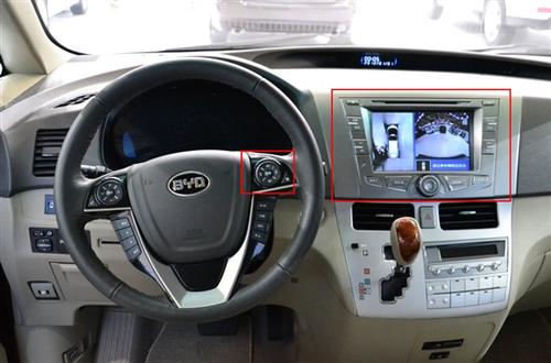 智观全局 比亚迪新M6首搭全景影像系统