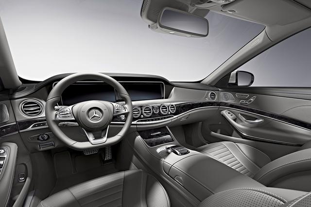 2016款奔驰S级正式上市 售110.8万元起