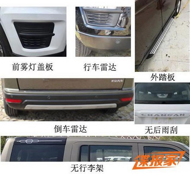 七座硬派SUV 长安欧尚全新车型申报图曝光