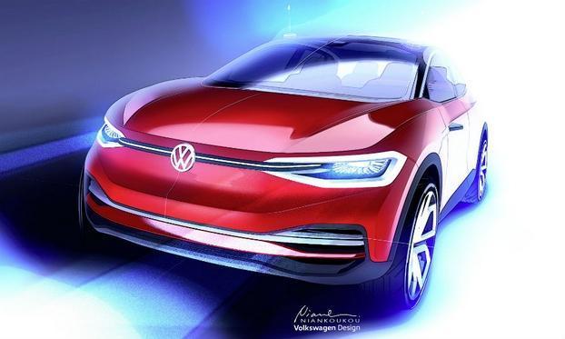 大众I.D. 家族电动概念SUV发布 将亮相法兰克福