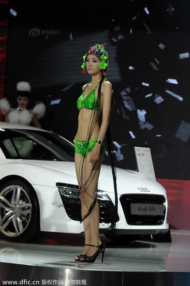 《每日猜车》第415期:京剧比基尼车模