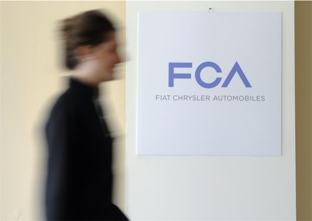 被指柴油车排放作弊 FCA或与美国司法部达成协议