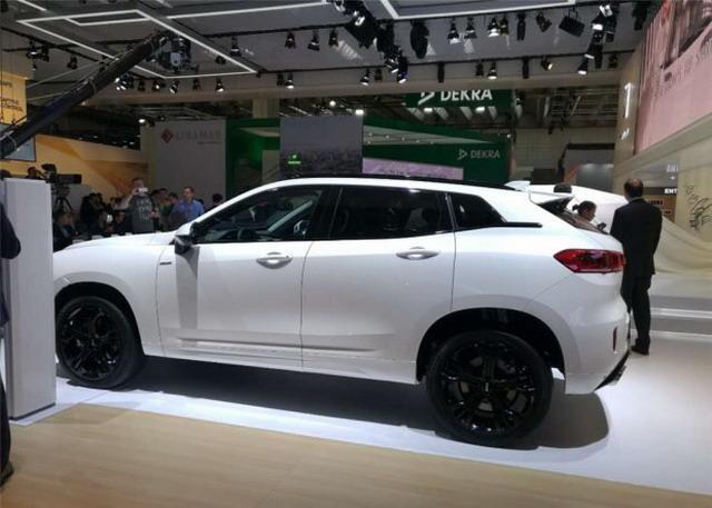 VV7 Hi4车型 2017法兰克福车展初次表态