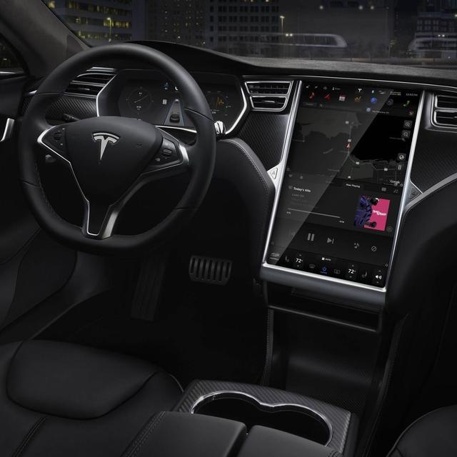 特斯拉Model 3亮相北京车展
