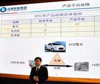 吉利未来5年将推出42款新车、20款发动机、14款变速箱