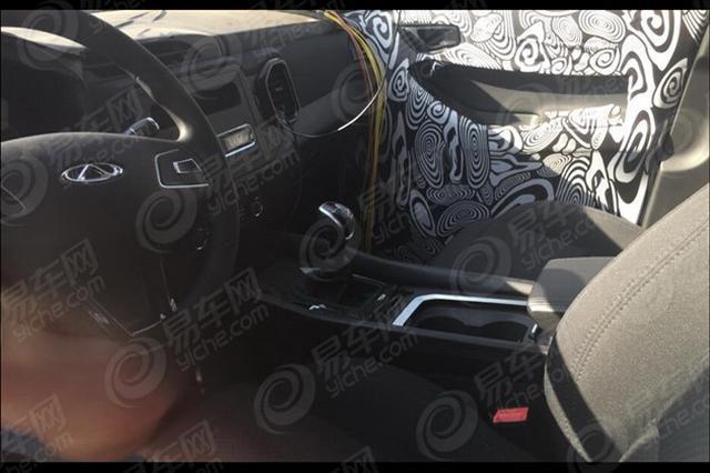 疑似瑞虎5七座版车型 奇瑞全新SUV谍照