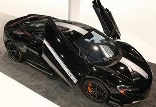 英国迈凯伦携手日本电子巨头CES发布概念车