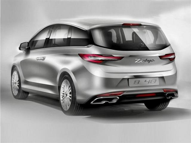 别克GL8时代将竣事 众泰全新MPV车型设计图