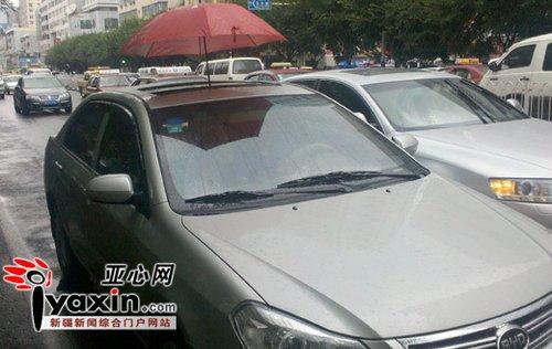 """新疆最""""衰""""车主 比亚迪新车30天修7次"""