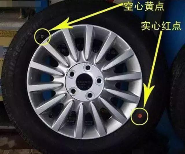 轮胎胎压正常 为什么看着还是有点瘪