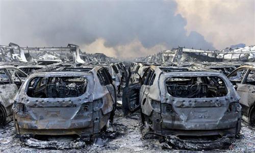 天津爆炸致大众宝马丰田转移 停产或再损数千辆车