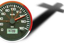 超速行驶导致爆胎