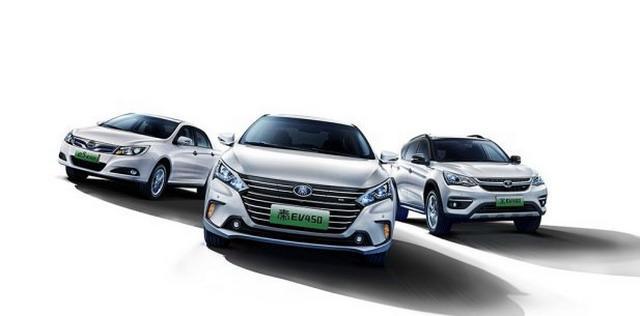 曝比亚迪旗下多款电动车官图 元EV年内上市
