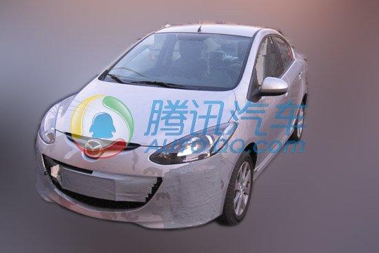 长安马自达2劲翔改款车型谍照曝光 汽车高清图片