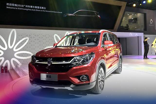 华晨雷诺观境广州车展首发 定位中型SUV