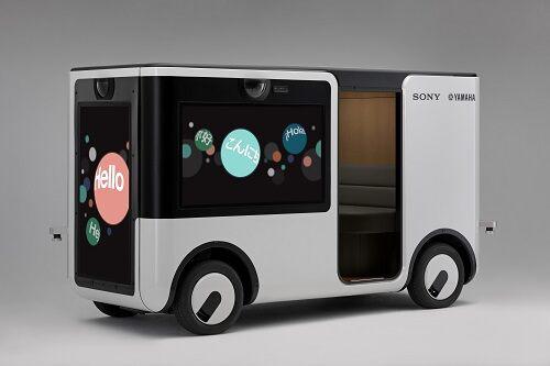 索尼雅马哈联手打造自动驾驶汽车SC-1车内外可投放流媒体广告