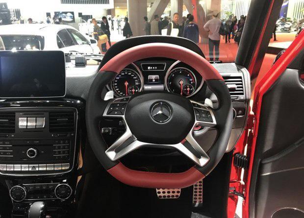 耀眼红色涂装 奔驰G级特别版亮相