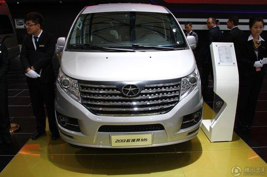 江淮新瑞风M5车展上市 售价16.28-19.98万