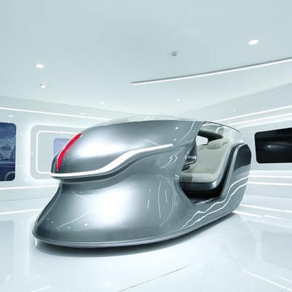 红旗北京车展首发全新概念座舱