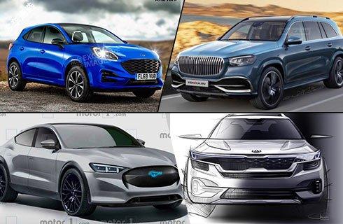 福特Puma/迈巴赫GLS/起亚SUV 这些假想图很靠谱