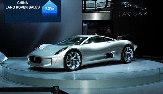 捷豹C-X16概念车将于法兰克福车展首发