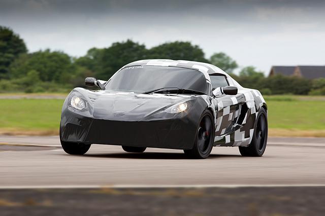 全世界最快的量产电动汽车SP:01即将发布