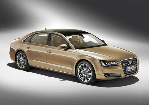 全新奥迪A8L北京车展全球首发 21款车展示